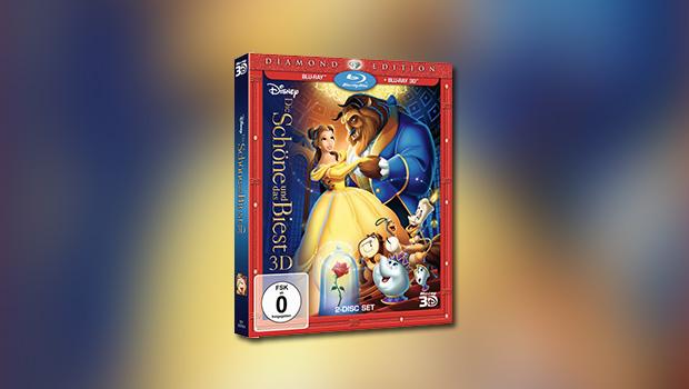 Die Schöne und das Biest (Diamond-Edition, 3D-Blu-ray)
