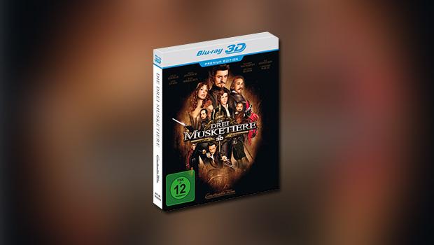 Die drei Musketiere in 3D (3D-Blu-ray, 2011)