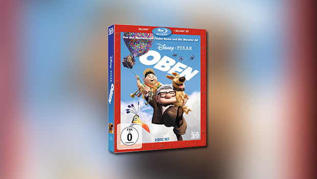 Up – Oben (3D-Blu-ray)