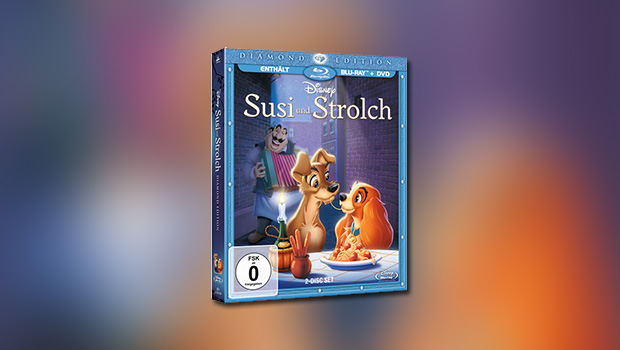 Susi und Strolch (Diamond Edition, Blu-ray)