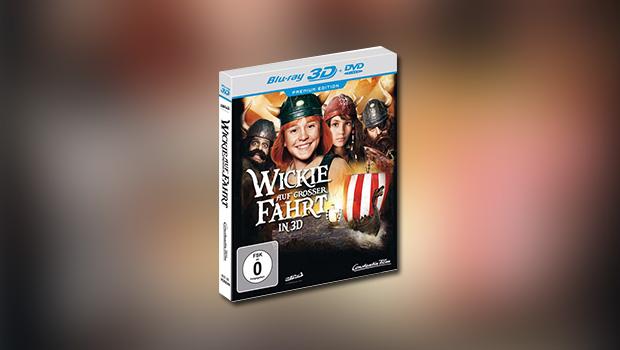 Wickie auf großer Fahrt (3D-Blu-ray)