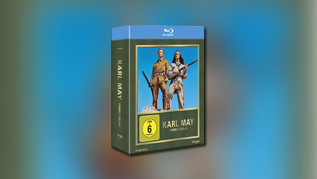 Winnetou-Trilogie (Blu-ray)