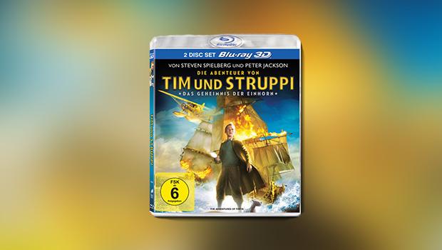 Die Abenteuer von Tim und Struppi – Das Geheimnis der Einhorn (3D-Blu-ray)