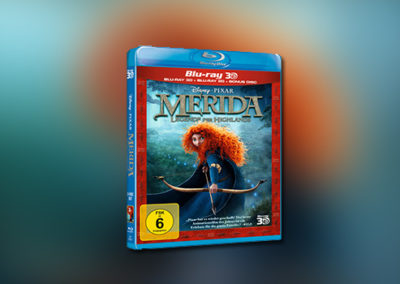 Merida – Legende der Highlands (3D-Blu-ray)