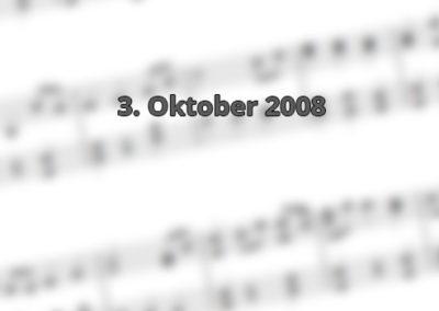 3. Oktober 2008