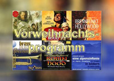 Vorweihnachtsprogramm 2003