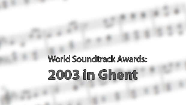 World Soundtrack Awards 2003 in Ghent