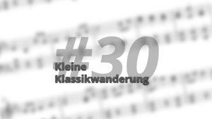 Kleine Klassikwanderung 30: Eine kleine (vor-)weihnachtliche Klassikwanderung