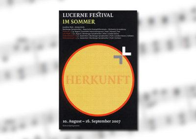 Die Bamberger Symphoniker beim Lucerne Festival im Sommer 2007 (30.8.2007 – 2.9.2007)