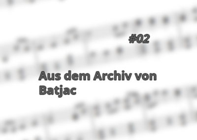 Aus dem Archiv von Batjac, 2. Folge