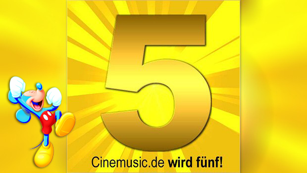 Micky Maus feiert den 75., Cinemusic.de wird 5!