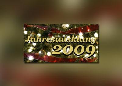 Jahresausklang 2009