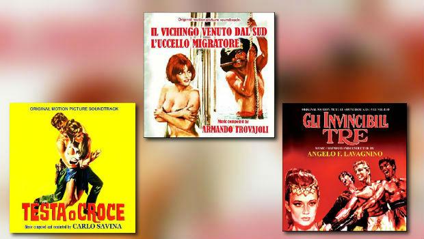 Neue Italo-Score-CDs von Saimel