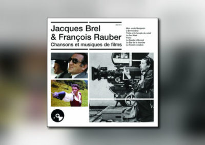 Brel/Rauber-Doppelalbum von Universal France