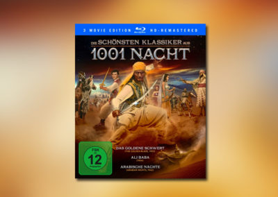 Die schönsten Klassiker aus 1001 Nacht (Blu-ray)