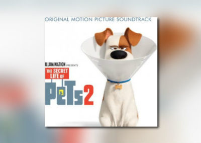 Alexandre Desplats The Secret Life of Pets 2 bei Back Lot Music