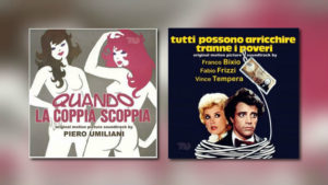 Neu von Beat Records: Piero Umiliani & Bixio / Frizzi / Tempera