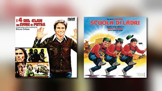 Beat im Dezember: Stelvio Cipriani & Bruno Zambrini