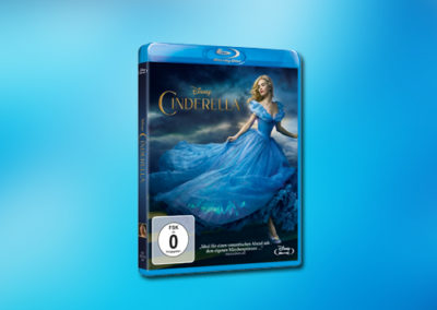 Cinderella (Kenneth Branagh, Blu-ray)