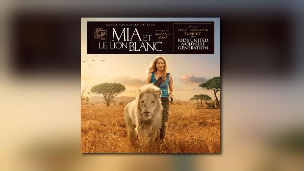 Mia et lion blanc