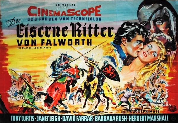 Der eiserne Ritter von Falworth (Plakatmotiv 1)
