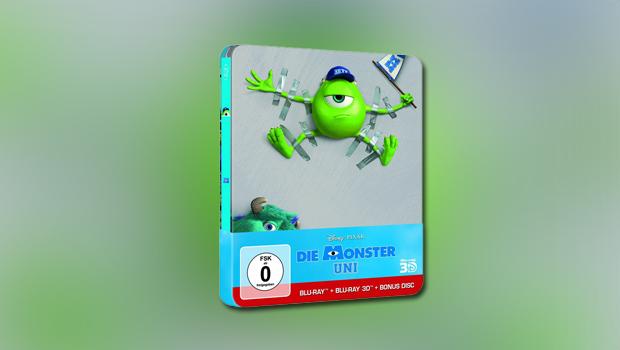 Die Monster Uni 3D