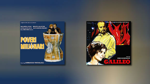 Neu von Digitmovies: Ennio Morricone & Armando Trovajoli