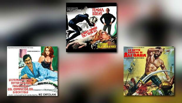 Digitmovies: Stelvio Cipriani, Marcello Giombini & Riz Ortolani