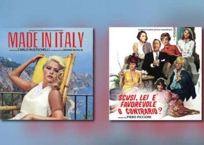 Neu von Digitmovies: Carlo Rustichelli & Piero Piccioni