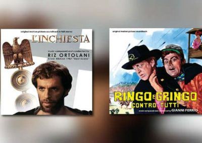 Neu von Digitmovies: Riz Ortolani & Gianni Ferrio