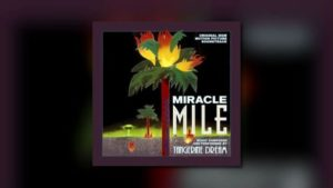 Tangerine Dreams Miracle Mile bei Dragon's Domain Records