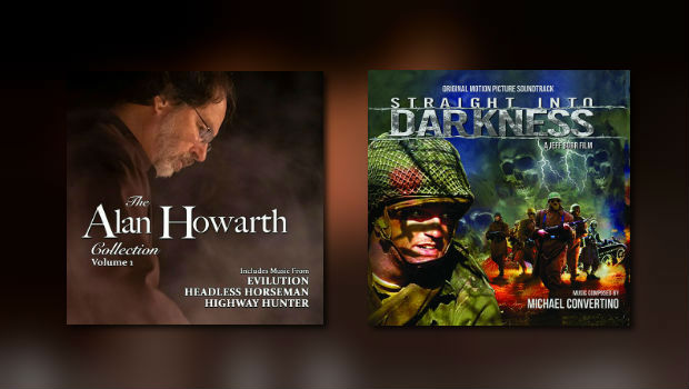 Neu von Dragon's Domain: Alan Howarth & Michael Convertino
