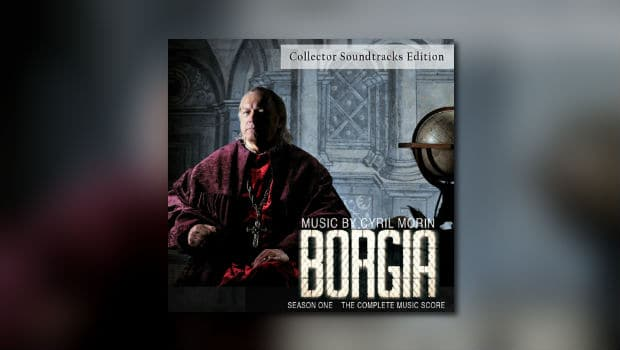 Cyril Morins Borgia als 4-CD-Set