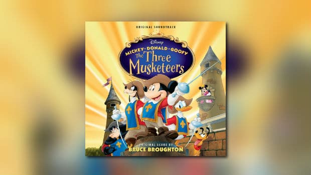 Neu von Intrada: Bruce Broughtons The Three Musketeers