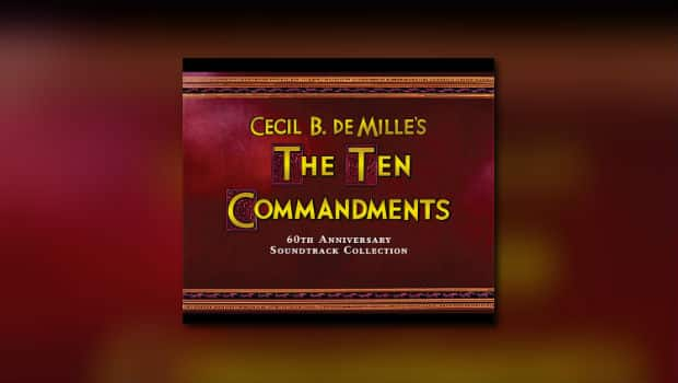 Intrada: Elmer Bernsteins The The Commandments als Boxset