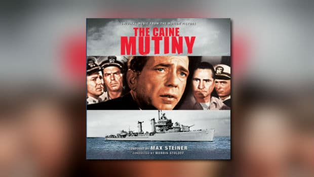 Max Steiners The Caine Mutiny bei Intrada