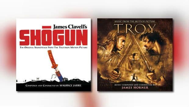 Neu von Intrada: Maurice Jarre & James Horner