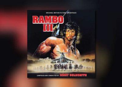 Jerry Goldsmiths Rambo III von Intrada