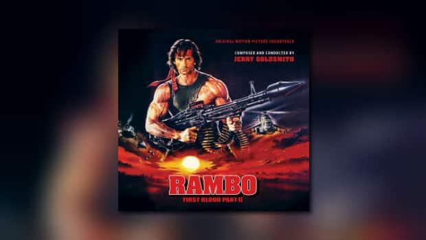 Intrada: Jerry Goldsmiths Rambo II als Doppelalbum