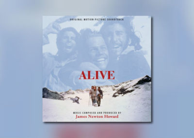 Neu von Intrada: James Newton Howards Alive als Doppelalbum