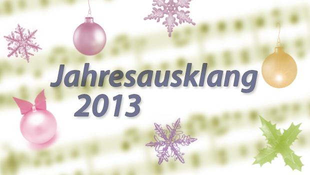 Jahresausklang 2013