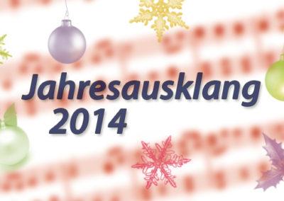 Jahresausklang 2014