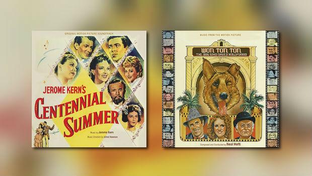 Kern/Newman-Musical & Hefti-Album von Kritzerland