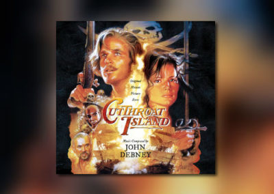Neu von La-La Land Records: John Debneys Cutthroat Island