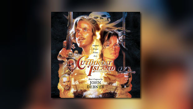 Neu von La-La Land Records: John Debneys Cutthroat Island
