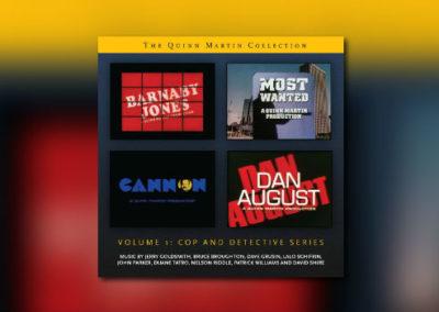 Neu von La-La Land: The Quinn Martin Collection Vol. I