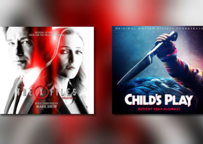 Neu von La-La Land Records: Mark Snow & Bear McCreary