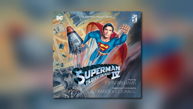Neu von La-La Land Records: Superman IV – The Quest for Peace