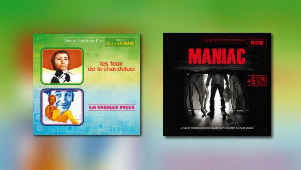 Neu von Music Box: Michel Legrand und Rob