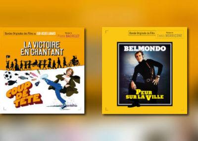 Neu von Music Box: Pierre Bachelet & Ennio Morricone